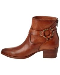 Frye - Brown Women's Zoe Ring Leather Boot - Lyst