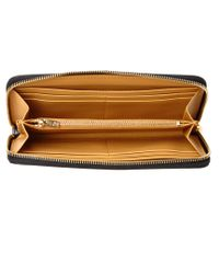 Sophie Hulme - Black Rosebery Leather Continental Wallet - Lyst
