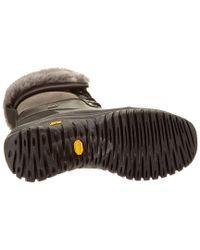 Ugg - Black Women's Adirondack Ii Waterproof Leather Boot - Lyst