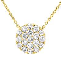 Diana M - Metallic . Fine Jewelry 14k 0.99 Ct. Tw. Diamond Necklace - Lyst