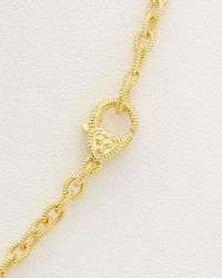 Judith Ripka - Metallic 14k Over Silver Station 36in Necklace - Lyst