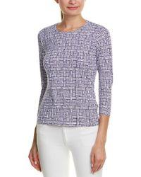 J.McLaughlin - Purple Catalina Cloth Top - Lyst