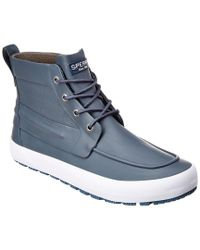 Sperry Top-Sider - Gray Cutter Rubber Lug Boot for Men - Lyst