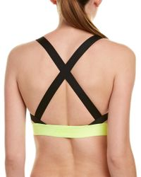 Nike - Natural Pro Indy Logo Back Bra - Lyst
