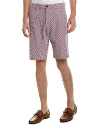 Brooks Brothers - Red Bermuda Short for Men - Lyst