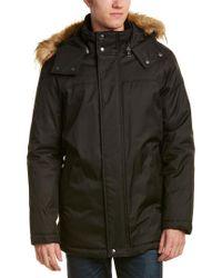 Cole Haan - Black Coat for Men - Lyst