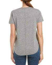 Sol Angeles - Gray Torque T-shirt - Lyst
