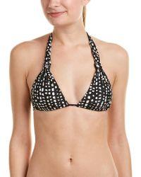 ViX - Black Dots Bikini Top - Lyst