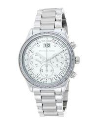 Michael Kors - Metallic Women's Brinkley Watch - Lyst