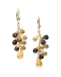 Effy - Metallic Fine Jewelry 14k 20.00 Ct. Tw. Gemstone Drop Earrings - Lyst