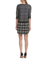 Soft Joie - Black Dinay Layered-look Dress - Lyst