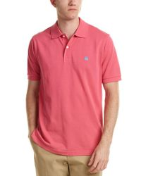 Brooks Brothers - Pink Slim Fit Supima® Cotton Performance Polo Shirt for Men - Lyst