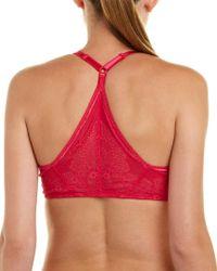 Wacoal - Pink Lace Soft Bra - Lyst