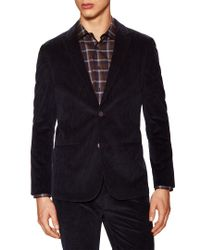 Vince Camuto - Blue Cord Blazer for Men - Lyst