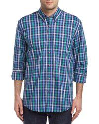 Cutter & Buck - Blue Cold Water Woven Shirt for Men - Lyst