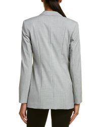 T Tahari | Gray Jacket | Lyst