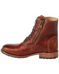 Bed Stu - Brown Tactic Leather Boot - Lyst