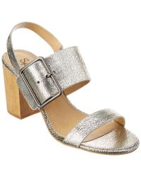 Splendid - Metallic Bo Leather Sandal - Lyst