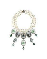 Bijoux De Famille   Green Million Dollar Chandelier Necklace   Lyst
