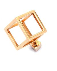 Caterina Zangrando | Metallic Jason Gold Mono Earring | Lyst