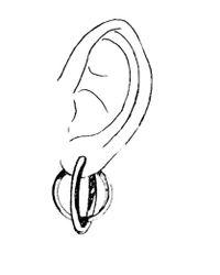 Caterina Zangrando - Metallic Rico Circles Gold Plated Earrings - Lyst