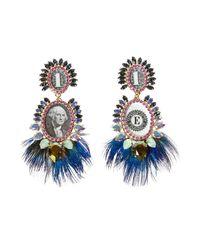 Bijoux De Famille | Blue Bird Earrings | Lyst