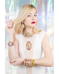Bijoux De Famille - Multicolor Disco Funky Dollar Choker Bracelet - Lyst