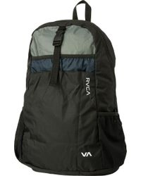 e6344b7485f7 Lyst - RVCA Densen Packable Backpack in Black for Men