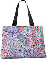 RVCA | Multicolor Psychedelic Tote Bag | Lyst