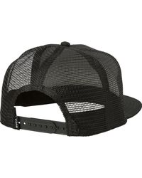 RVCA - Black Cold Soul Trucker Hat for Men - Lyst