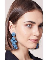 Sachin & Babi - Coconuts Earrings | French Blue - Lyst