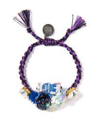 Venessa Arizaga   Purple Kanpai Bracelet   Lyst