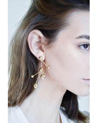 Pamela Love | Multicolor Hydra Earrings In Brass | Lyst
