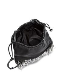 Alexander Wang - Black Ryan Mini Bucket Bag - Lyst