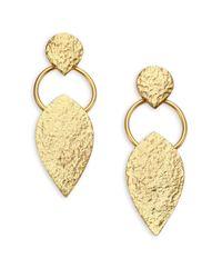 Stephanie Kantis | Metallic Entity Drop Earrings | Lyst