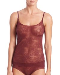 Commando | Purple Weightless Lace Camisole | Lyst