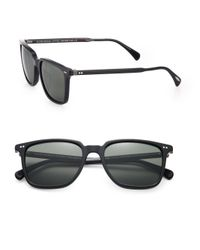 Oliver Peoples - Black Opll 53mm Square Sunglasses - Lyst