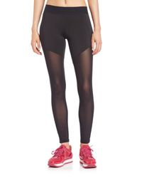 Heroine Sport | Black Tech Jersey Racing Leggings | Lyst