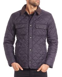 Barbour | Blue Tinford Quilted Jacket for Men | Lyst