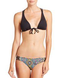 L*Space | Black Knotty Bikini Top | Lyst