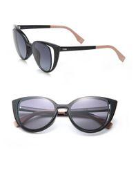 Fendi   Black Cat's-eye 51mm Sunglasses   Lyst