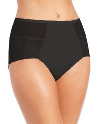 Fortnight | Black Seamless High-waist Bikini Brief | Lyst
