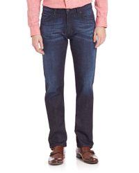 Armani | Blue Classic-fit Jeans for Men | Lyst