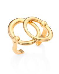Maiyet - Metallic Orbit Double-circle Cuff Bracelet - Lyst