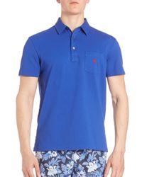 Polo Ralph Lauren - Blue Classic Polo Shirt for Men - Lyst