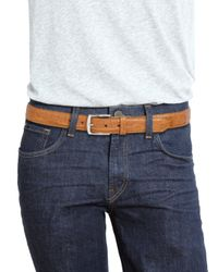 Polo Ralph Lauren - Brown Crocodile Harness-buckle Belt for Men - Lyst