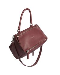 Givenchy | Red Pandora Medium Leather Shoulder Bag | Lyst