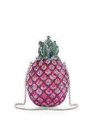 Judith Leiber | Red Sugarloaf Pineapple Clutch | Lyst