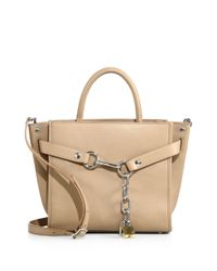 Alexander Wang - Natural Attica Chain Leather Satchel - Lyst
