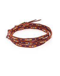 Chan Luu | Multicolor Japanese Seed Bead Wrap Bracelet | Lyst